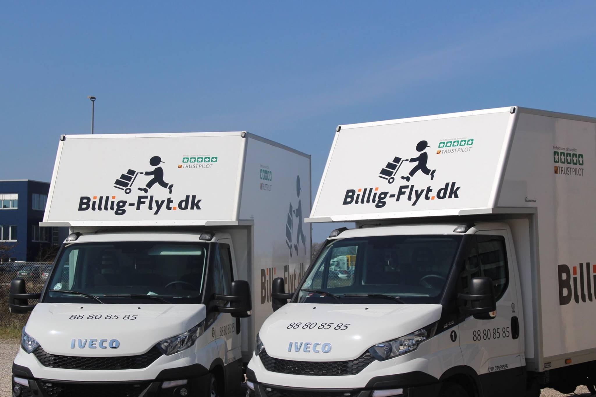 Billig Flyt ApS – flyttefirma på Sjælland og Jylland